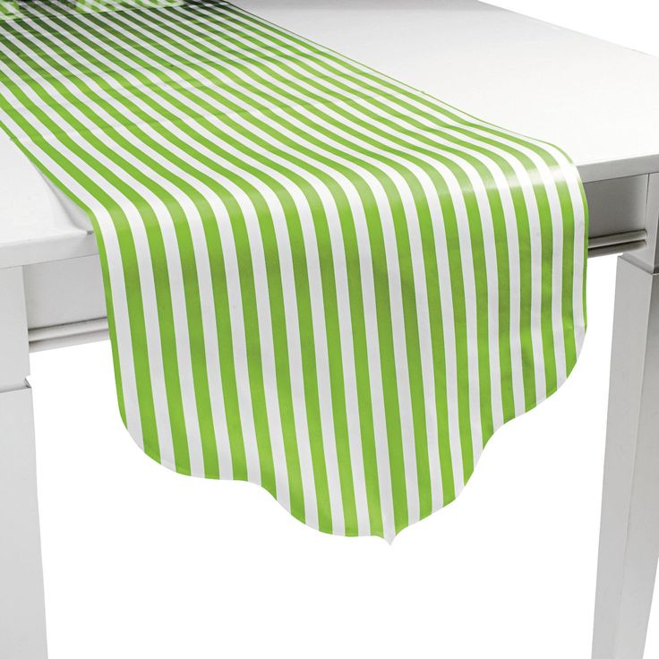 Reversible Table Runner, Stripes and Polka Dots CLEARANCE