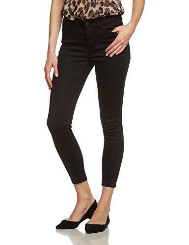 PIECES Damen 7/8 Hose Pcjust Jute Legging/black, Gr. 36 (Herstellergröße: S/M), Schwarz
