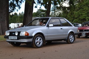 Ford Escort XR3 Silver (My 2nd Car) My Modes of