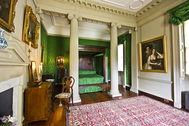 Henrietts bedroom    Marble Hill House, Chiswick, London