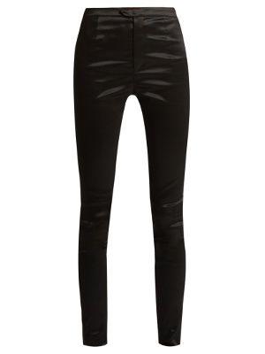 Nevada high-shine skinny trousers   Isabel Marant   MATCHESFASHION.COM UK