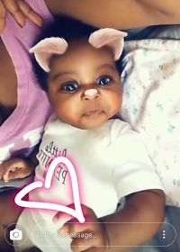 See New Photos Of Davido's Second Daughter Hailey