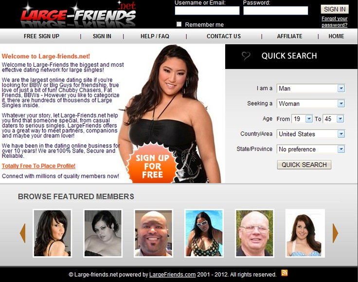 large friends dating site