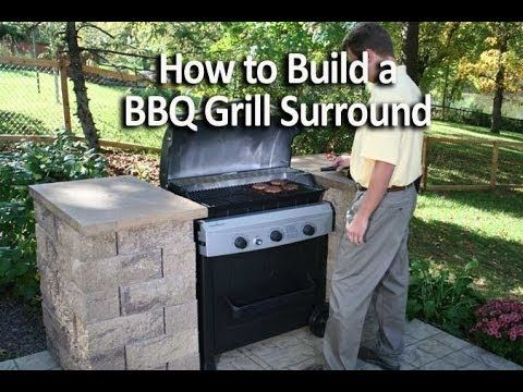 How To Build An Outdoor Kitchen Or Bbq Grill Surround You Living Landscaping In 2018 Pinterest And