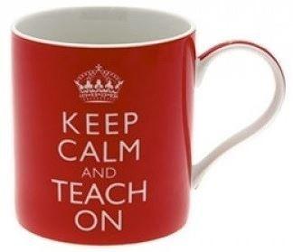 Cana de portelan Keep Calm And Teach On