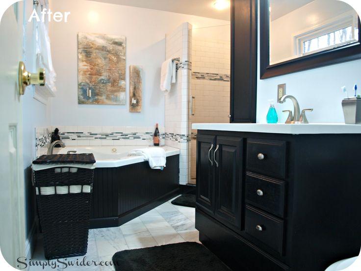 Black Vanity Bathroom Ideas 296 best bathroom images on pinterest | bathroom ideas, bathroom