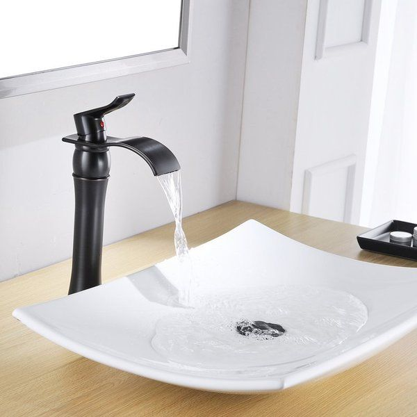 You Ll Love The Dfi Waterfall Vessel Sink Bathroom Faucet With