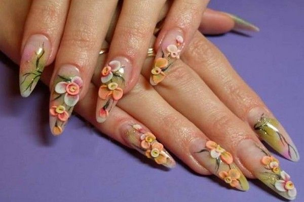 Acrylic Nails Designs For Weddings