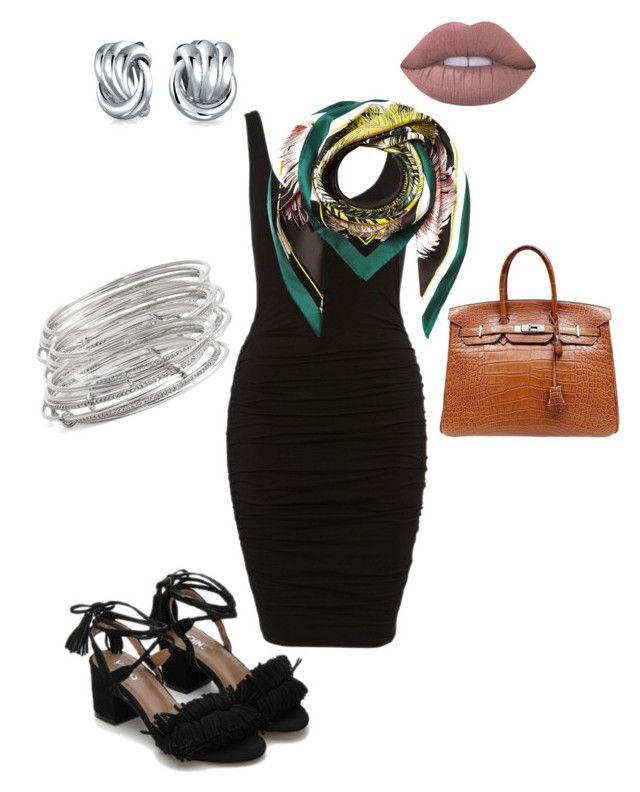 """""""Untitled #60"""" by sandie-mefaddi on Polyvore featuring Emilio Pucci, Hermès, Kate Spade, Bling Jewelry and Lime Crime"""