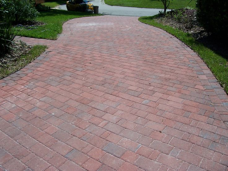 Paver patio on a slope google search landscaping for Pinterest patio pavers