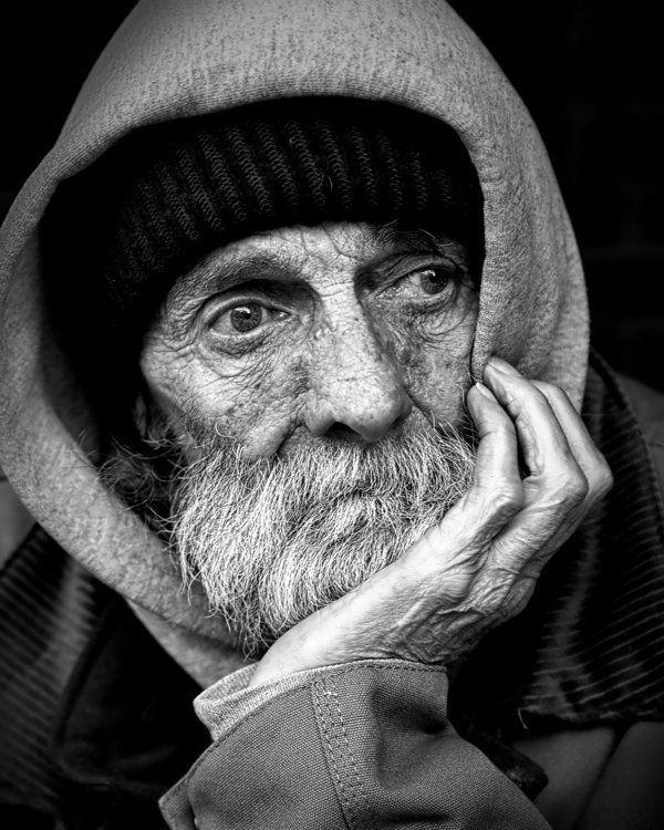 Homme sans domicile