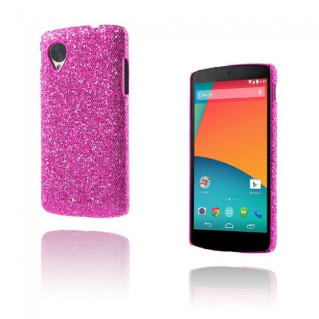 Glitter (Violetti) Google Nexus 5 Suojakuori - http://lux-case.fi/google-nexus-5-suojakuoret.html