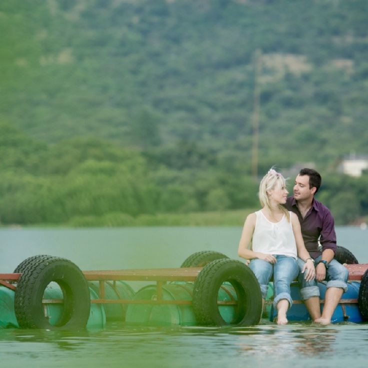 Engagement shoot #water theme