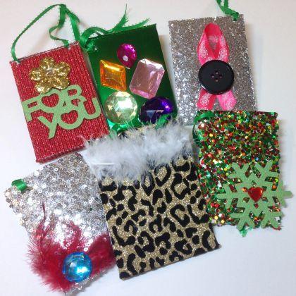 Glamorous Gift Card Sleeves