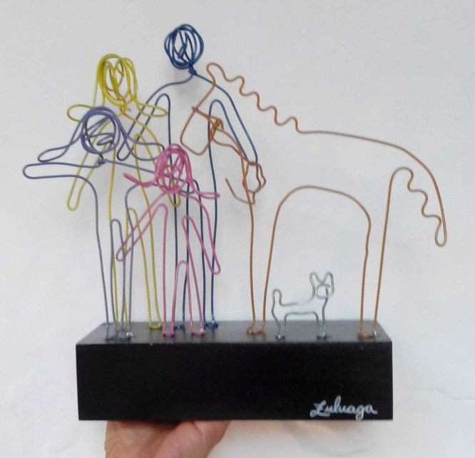¡Escultura de Familia!