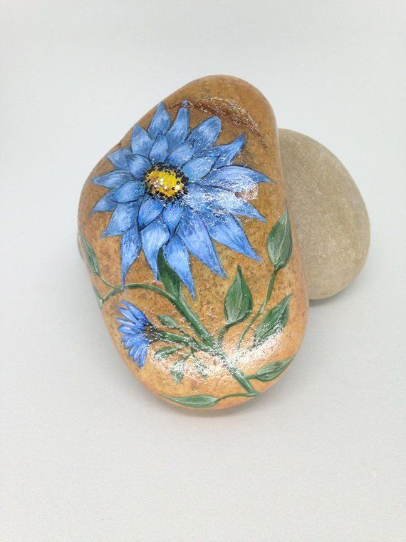 Stone Art Painting Flower