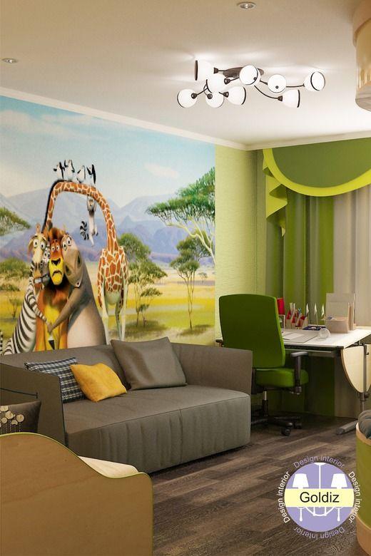 Дизайн детской комнаты. Детская