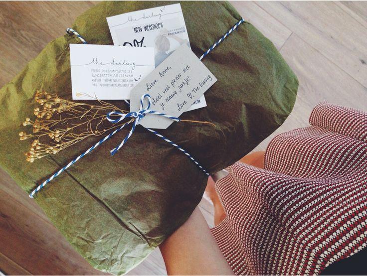 Een jurkje dat ik online had besteld bij the Darling Amsterdam werd zo bij mij afgeleverd, super leuk!