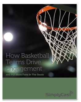 How basketball teams drive fan engagement and build a loyal fan base using marketing automation.