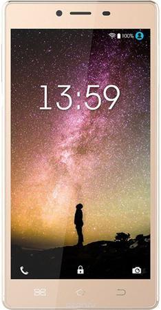 """Keneksi Helios, Gold  — 9190 руб. —  Keneksi Helios оснащен 5,5"""" HD экраном, который обеспечивает исключительно четкое изображение и яркие насыщенные цвета. Улучшенные настройки и высокое разрешение экрана позволяют насладиться превосходным качеством изображения в любых условиях. Keneksi Helios оснащен сканнером отпечатка пальца. Одно лёгкое прикосновение моментально разблокирует ваш смартфон. Эргономичный металлический корпус Helios притягивает взгляды. Смартфон Keneksi Helios - это лучшее…"""