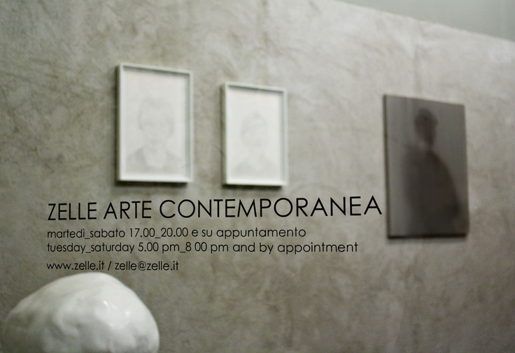 Zelle Arte Contemporanea gallery  Palermo, Italy.    Photo @ Noemi Lp