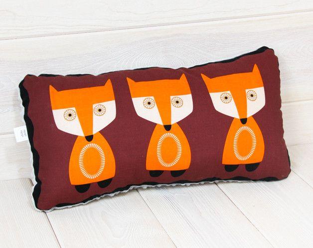 Poduszka Lisy MINKY 30x50 amerykańska bawełna - pinkraccoon - Poduszki dla dzieci