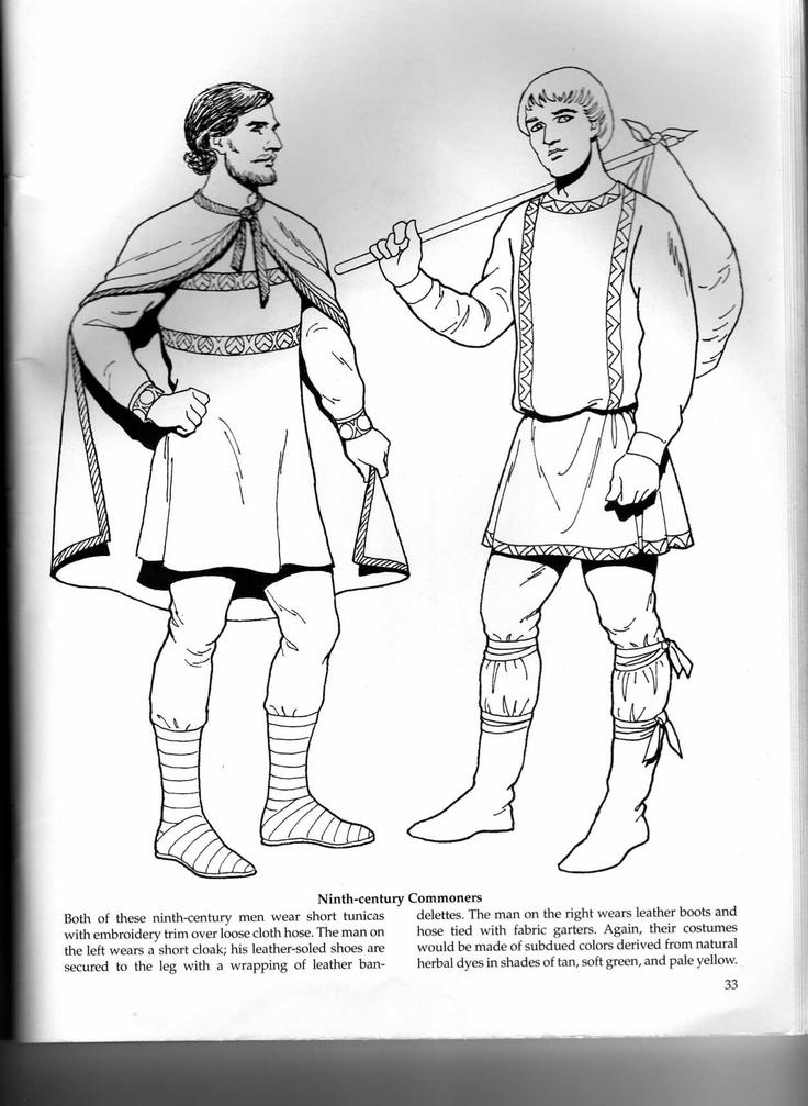 Byzantine attire.