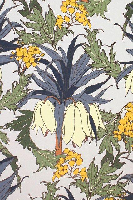 'Friti' wallpaper by Abigail Borg - Wallpaper Ideas & Designs (houseandgarden.co.uk)