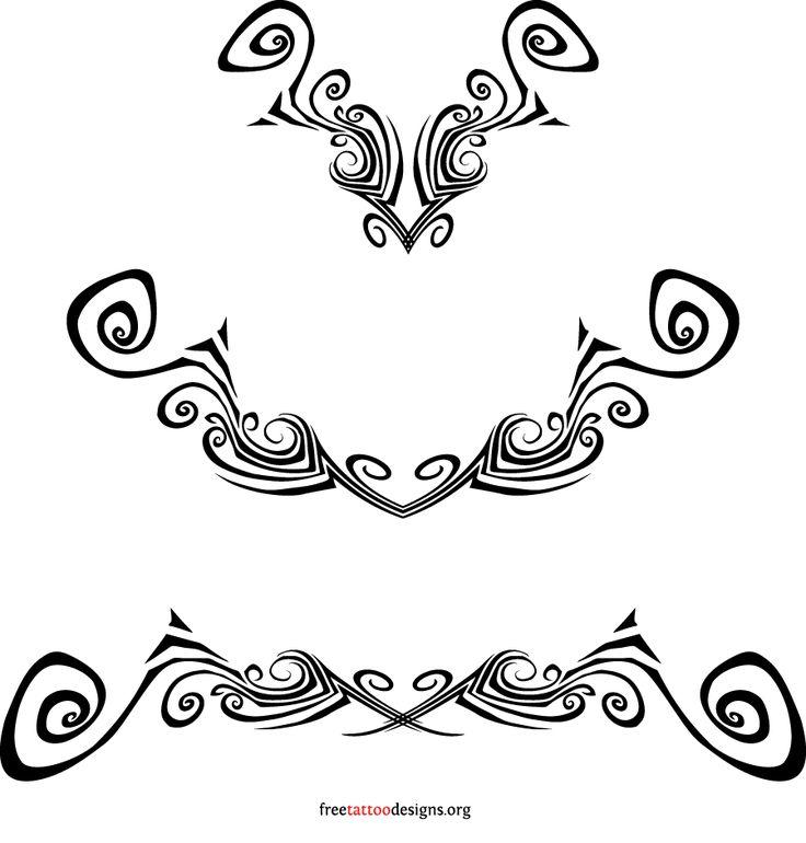ladies cross tattoo designs   95 Lower Back Tattoos   Tramp Stamp Tribal Tattoo Designs