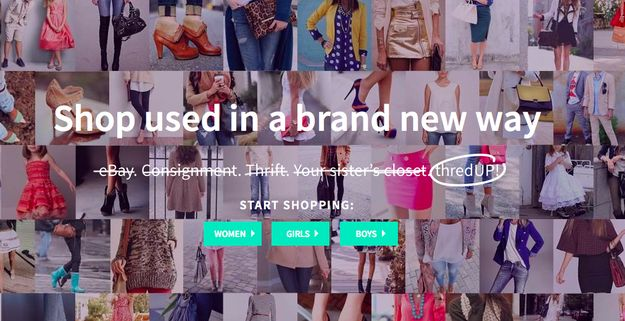 ThredUp - You can buy or sell gently used clothing and the shipping is free! Sort by size, style, color, condition, brand, price, and more.