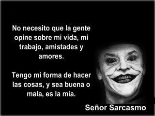 señor sarcasmo - Taringa!