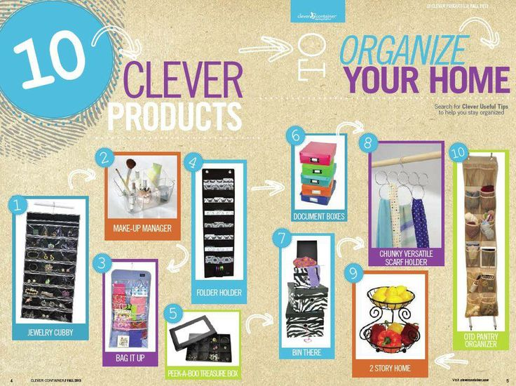 clever container has a solution for your organizing needs httpfacebook