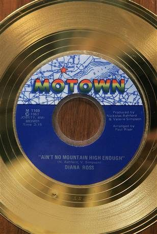 Ain't No Mountain High Enough - Diana Ross; Motown-Gold                                                                                                                                                                                 More