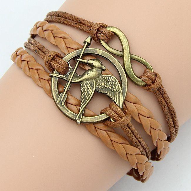 2015 nueva pulsera de cuero mejor regalo Potter reliquias alas imitación de la perla del buho de la muerte Snitch Cords pulsera para mujeres pulseiras en Pulseras de Dijes de Joyería en AliExpress.com | Alibaba Group