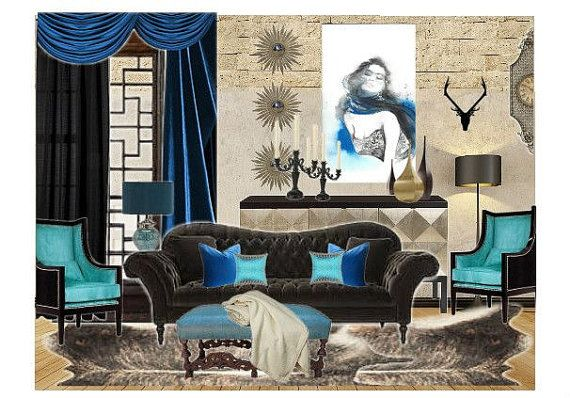 So BLUE Without You! by denise on Etsy