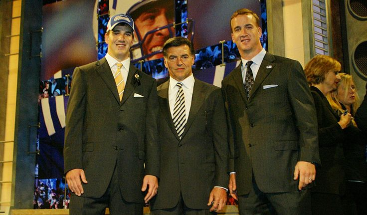 Tom Condon (center) co-heads the Creative Arts Agency (CAA) football division and is considered to be the most powerful agent in the business, counting Eli Manning and Peyton Manning among his roster of A-list clients. (David Drapkin/AP)