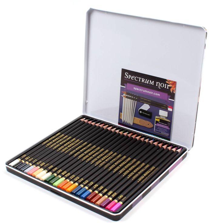Spectrum Noir Pencil Essentials 24 Pack