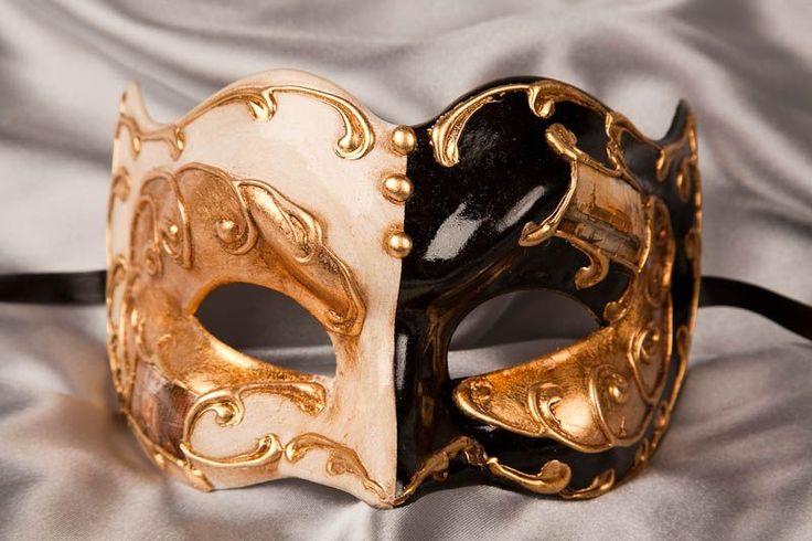 Half Face Joker Masquerade Mask - JOKER DOUBLE