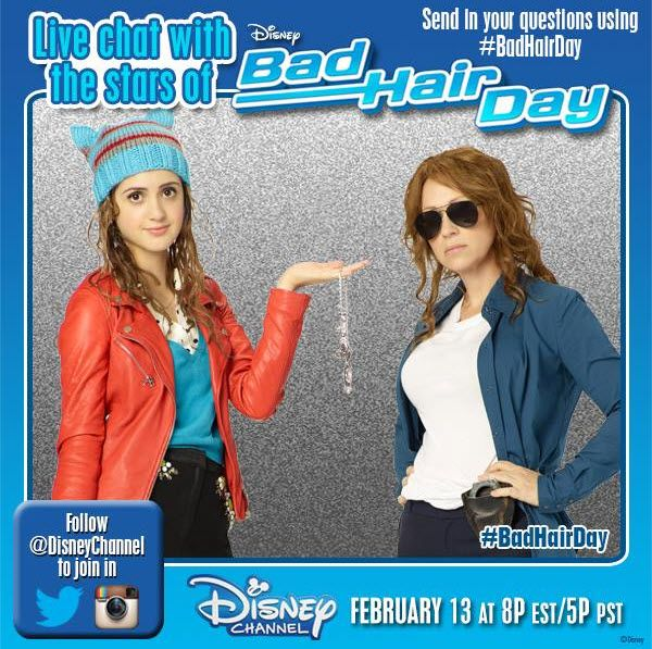 """""""Bad Hair Day"""" Cast Live Tweeting With Disney Channel During Premiere On February 13, 2015 - Dis411"""