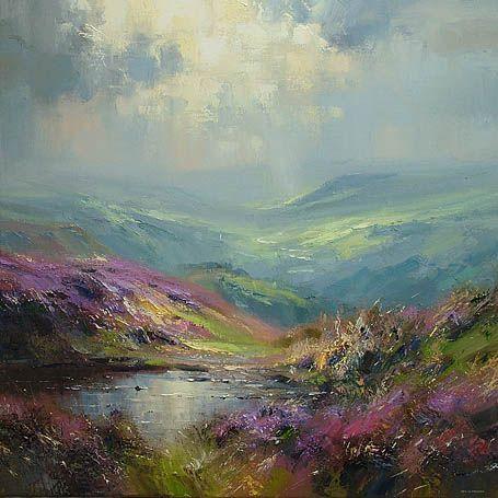 Derwent Valley from Curbar Edge Rex Preston