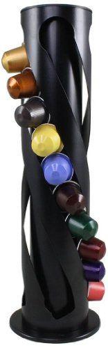 Capstore Spirale Nespresso Capsule Holder - http://thecoffeepod.biz/capstore-spirale-nespresso-capsule-holder/