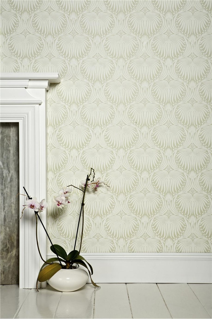 Best 25 wallpaper fireplace ideas on pinterest brick for Farrow and ball los angeles