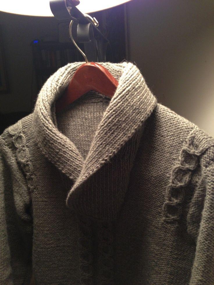 Men's Vintage Irish pullover pattern - instructions in post #knit #sweater