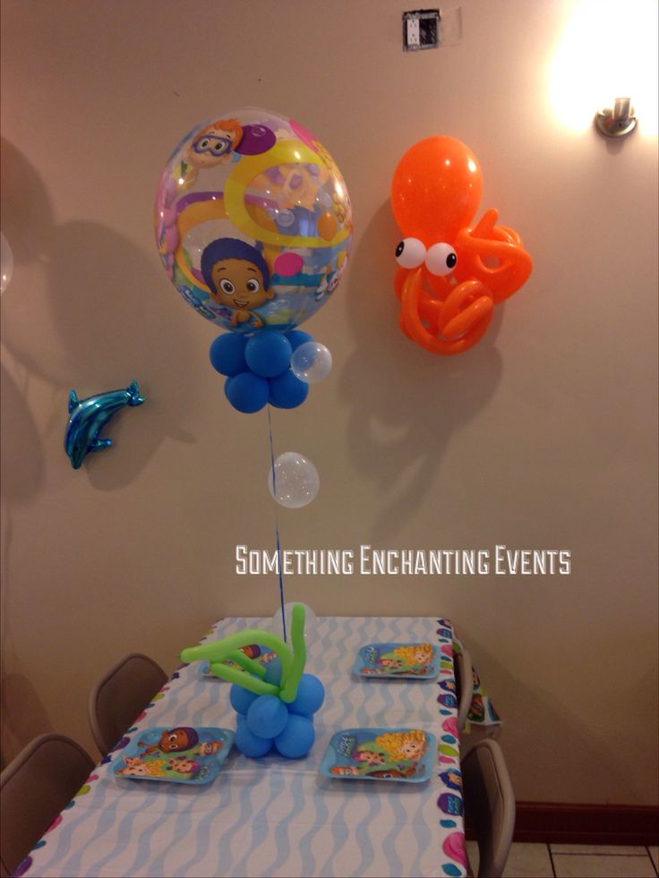 7 best Bubble Guppies theme party images on Pinterest | Theme ...