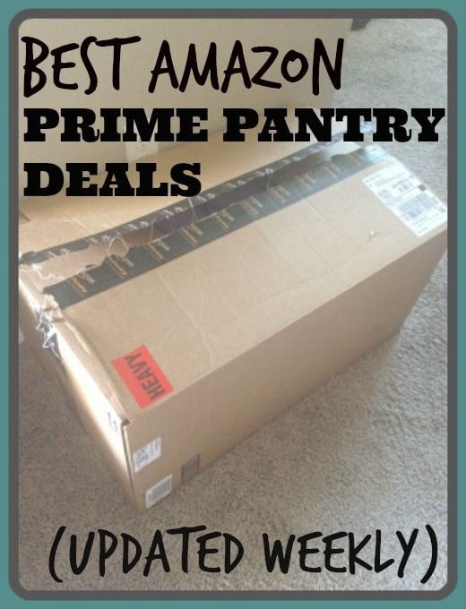 How to find the best Amazon Prime Pantry deals + save money on grocery delivery!