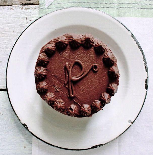 Smoked Porter Cake