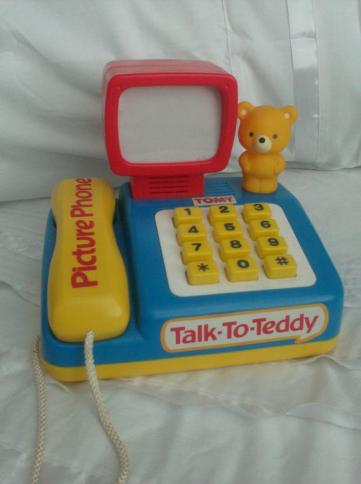 "Tomy ""Talk-to-Teddy Picture Phone"""