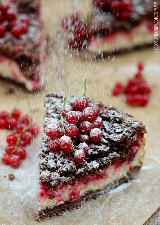 Chocolate and Red Currants Cake