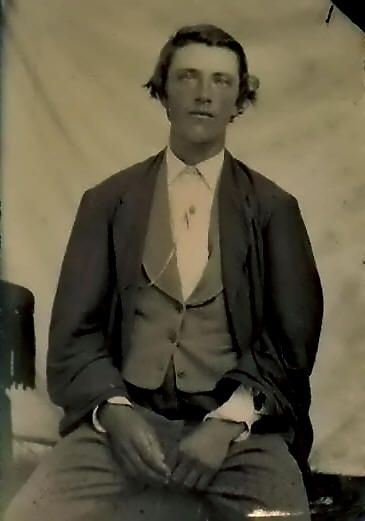 Billy the Kid: (1859 - 1881),  real name William McCarty, has become one of the legendary figures of the Wild West. His mother was an Irish immigrant who grew up in Ireland and raised her son in a New York slum before heading out west.