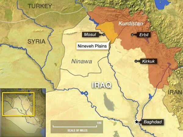 Τριβές μεταξύ Κούρδων , Ιρακινών και Τούρκων για τα λάφυρα της Μοσούλης